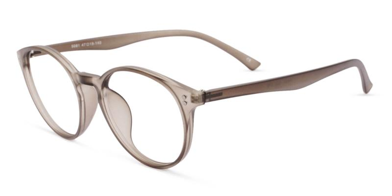 Gray Kids-Ganymede - TR Eyeglasses , Lightweight , UniversalBridgeFit