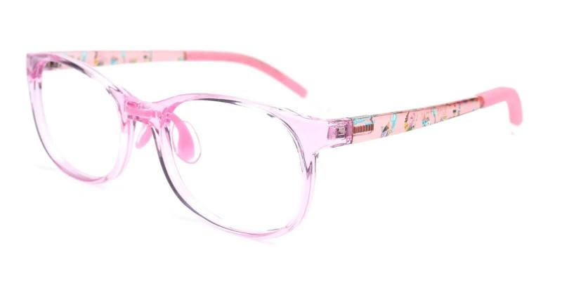 Pink Kids-Lapetus - TR Eyeglasses , Lightweight , UniversalBridgeFit