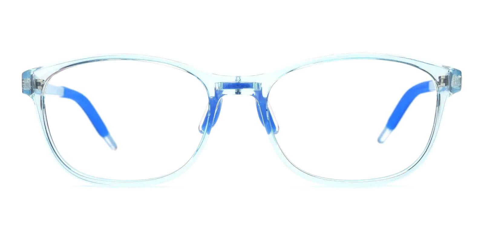 Kids-Dione Blue TR Eyeglasses , Lightweight , UniversalBridgeFit Frames from ABBE Glasses