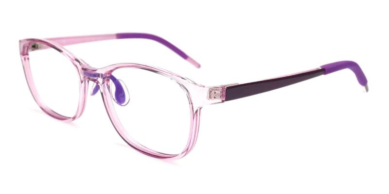 Purple Kids-Enceladus - TR Eyeglasses , Lightweight , UniversalBridgeFit