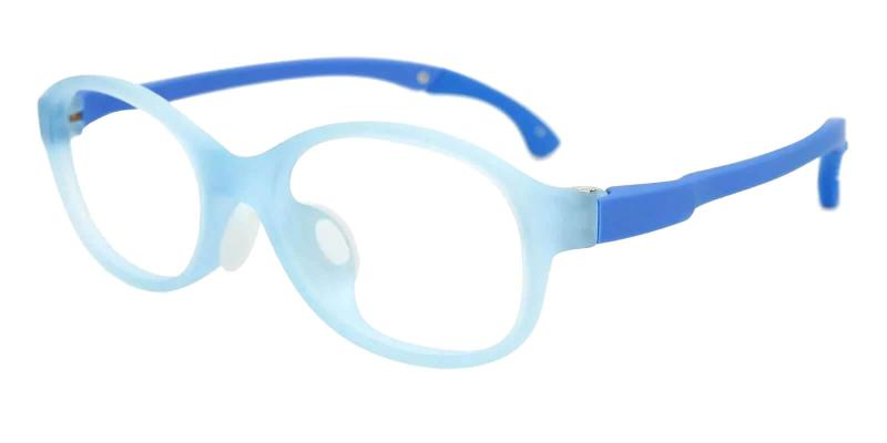 Blue Kids-Mimas - TR Eyeglasses , Lightweight , UniversalBridgeFit