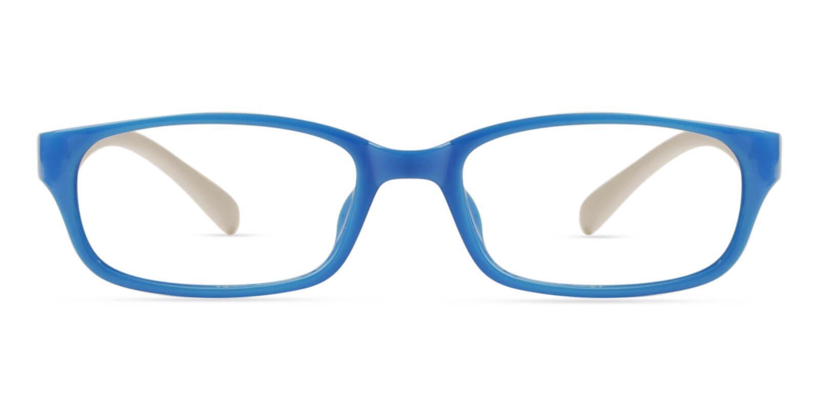 Kids-Phoebe Blue TR Eyeglasses , Lightweight , UniversalBridgeFit Frames from ABBE Glasses
