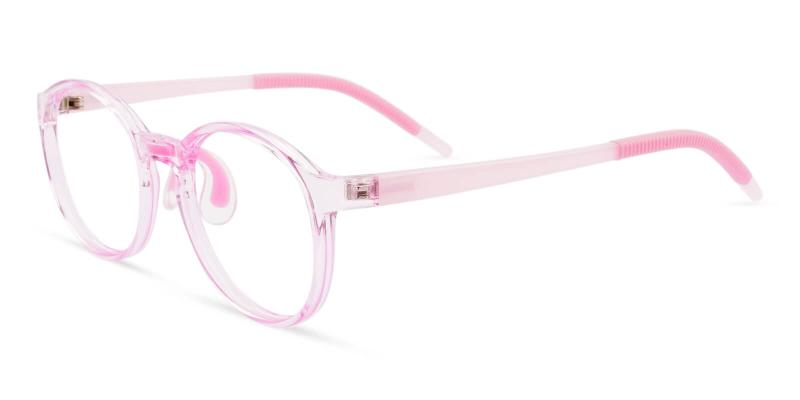 Pink Kids-Oberon - TR Eyeglasses , Lightweight , NosePads