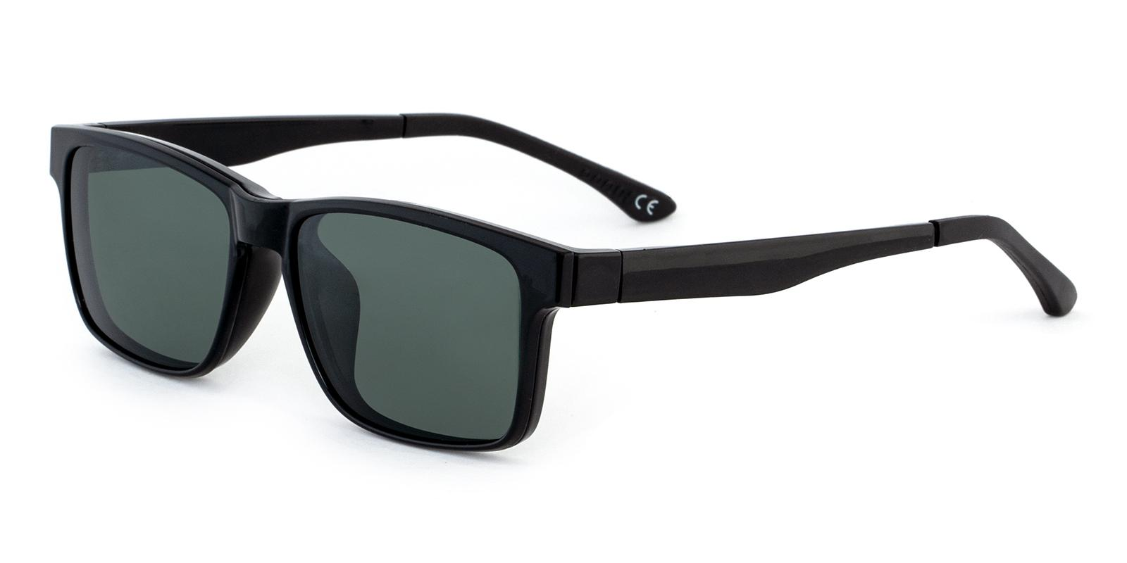 Kerberos Black Combination Sunglasses , UniversalBridgeFit Frames from ABBE Glasses