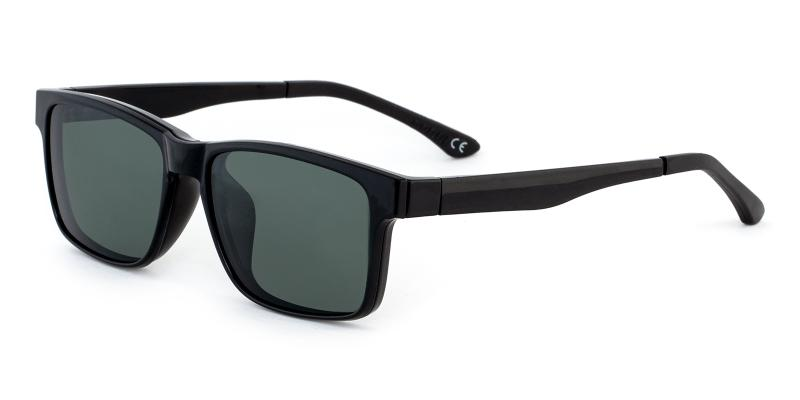 Black Kerberos - Combination Sunglasses , UniversalBridgeFit