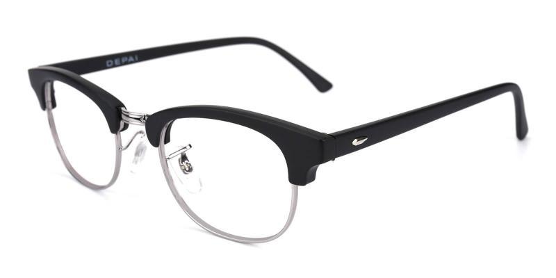 Black Aidan - TR Eyeglasses , NosePads