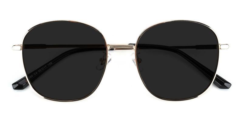 Black Sequence - Metal NosePads , SpringHinges , Sunglasses