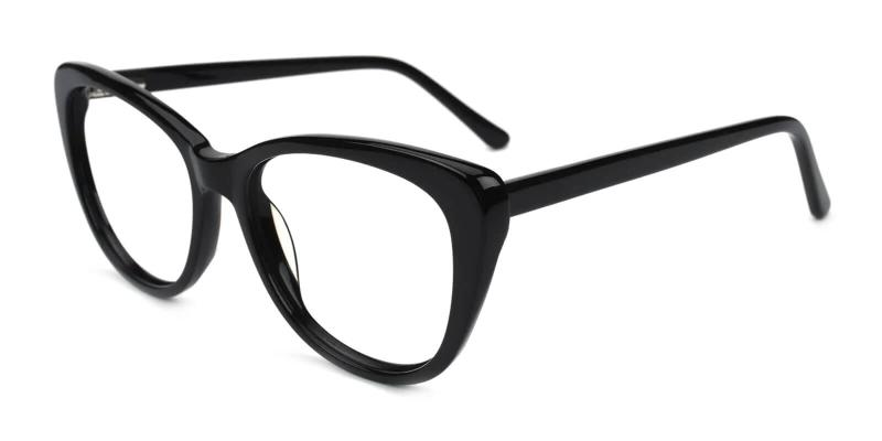 Black Theory - Acetate Eyeglasses , SpringHinges , UniversalBridgeFit