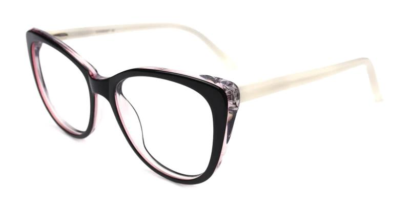 White Theory - Acetate Eyeglasses , SpringHinges , UniversalBridgeFit