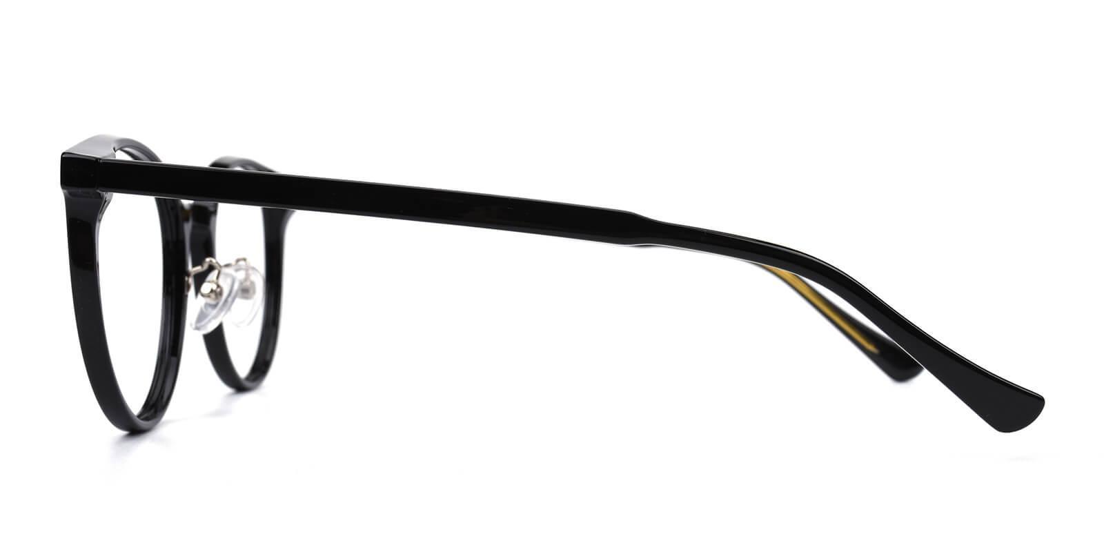 Borderline Black TR Eyeglasses , NosePads Frames from ABBE Glasses