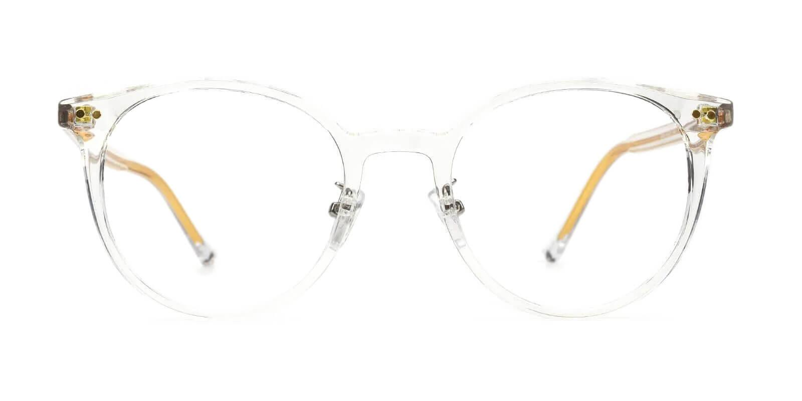 Borderline White TR Eyeglasses , NosePads Frames from ABBE Glasses