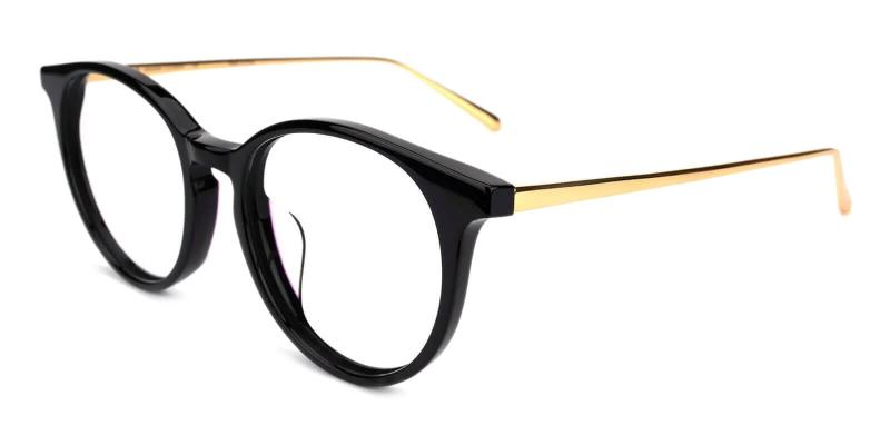 Black Urban - Metal Eyeglasses , UniversalBridgeFit