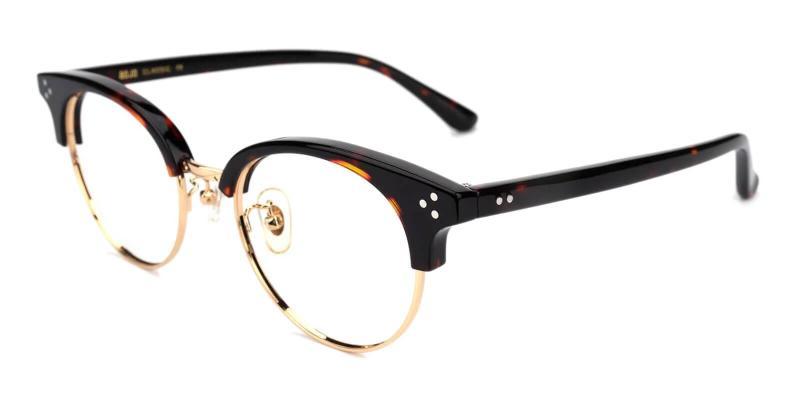 Tortoise Emerge - Acetate Eyeglasses , NosePads