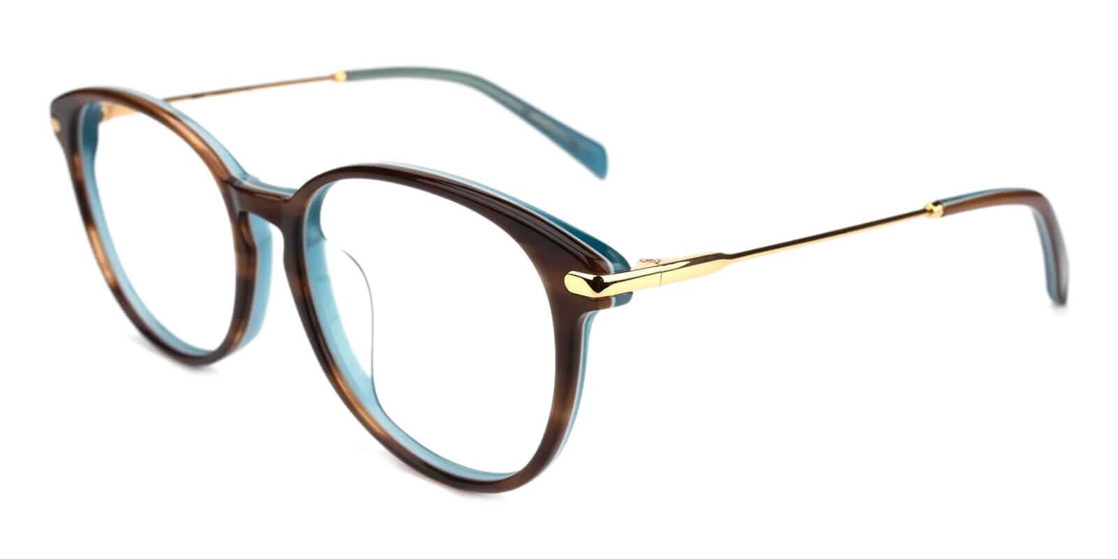 Synopsis Tortoise Acetate Eyeglasses , UniversalBridgeFit Frames from ABBE Glasses
