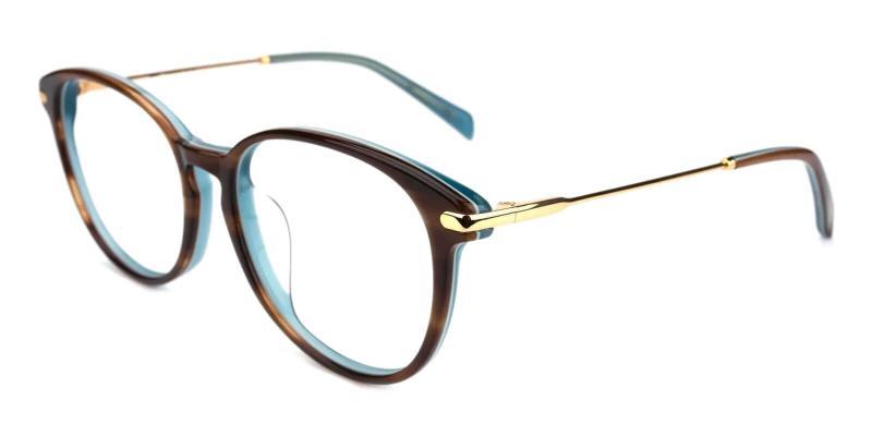 Tortoise Synopsis - Acetate Eyeglasses , UniversalBridgeFit