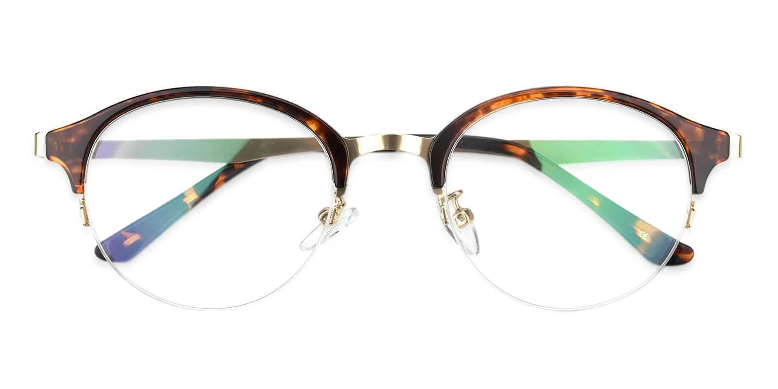 Dreamer Tortoise Metal Eyeglasses , NosePads Frames from ABBE Glasses