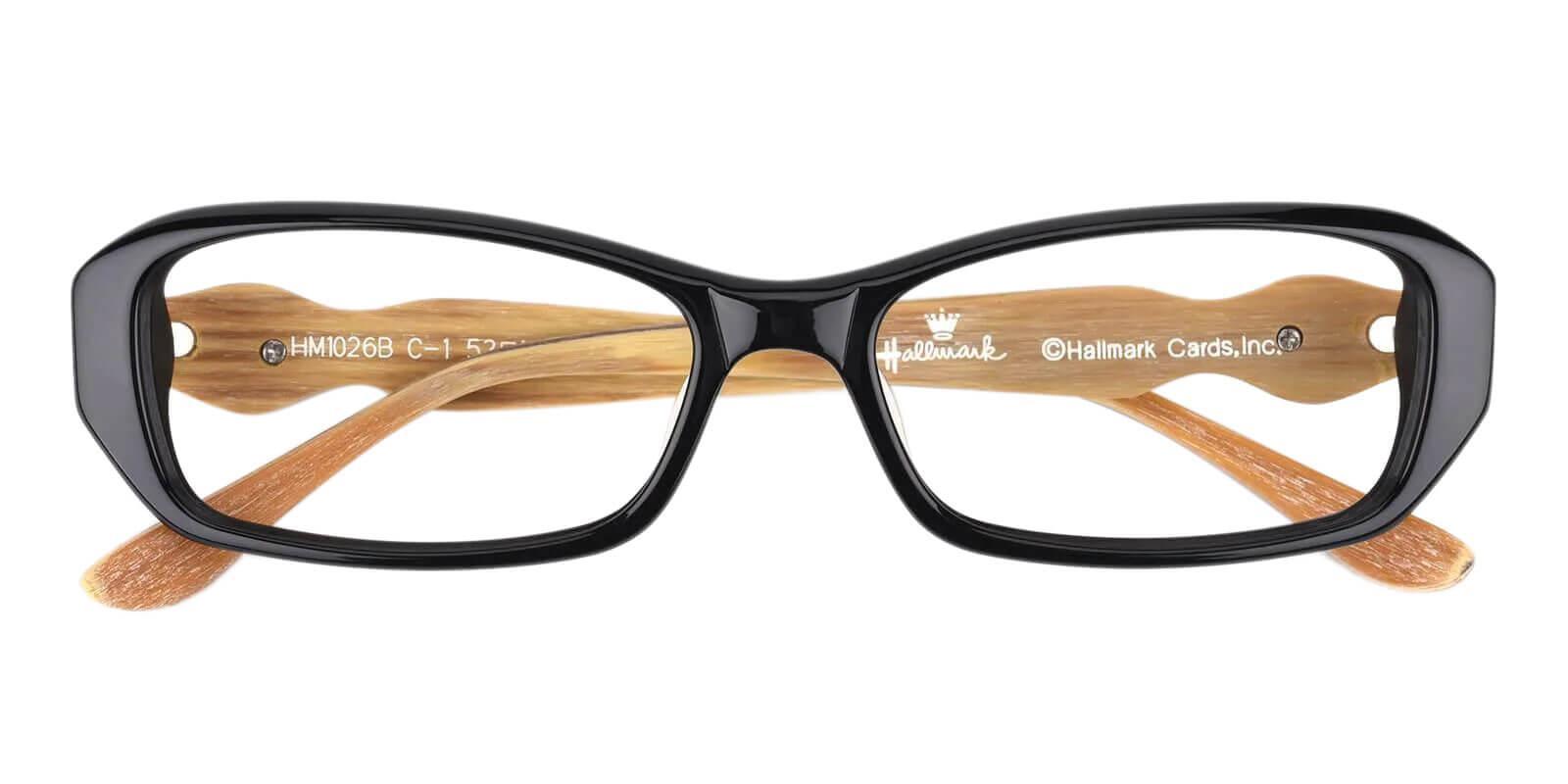 Setup Black TR Eyeglasses , UniversalBridgeFit Frames from ABBE Glasses