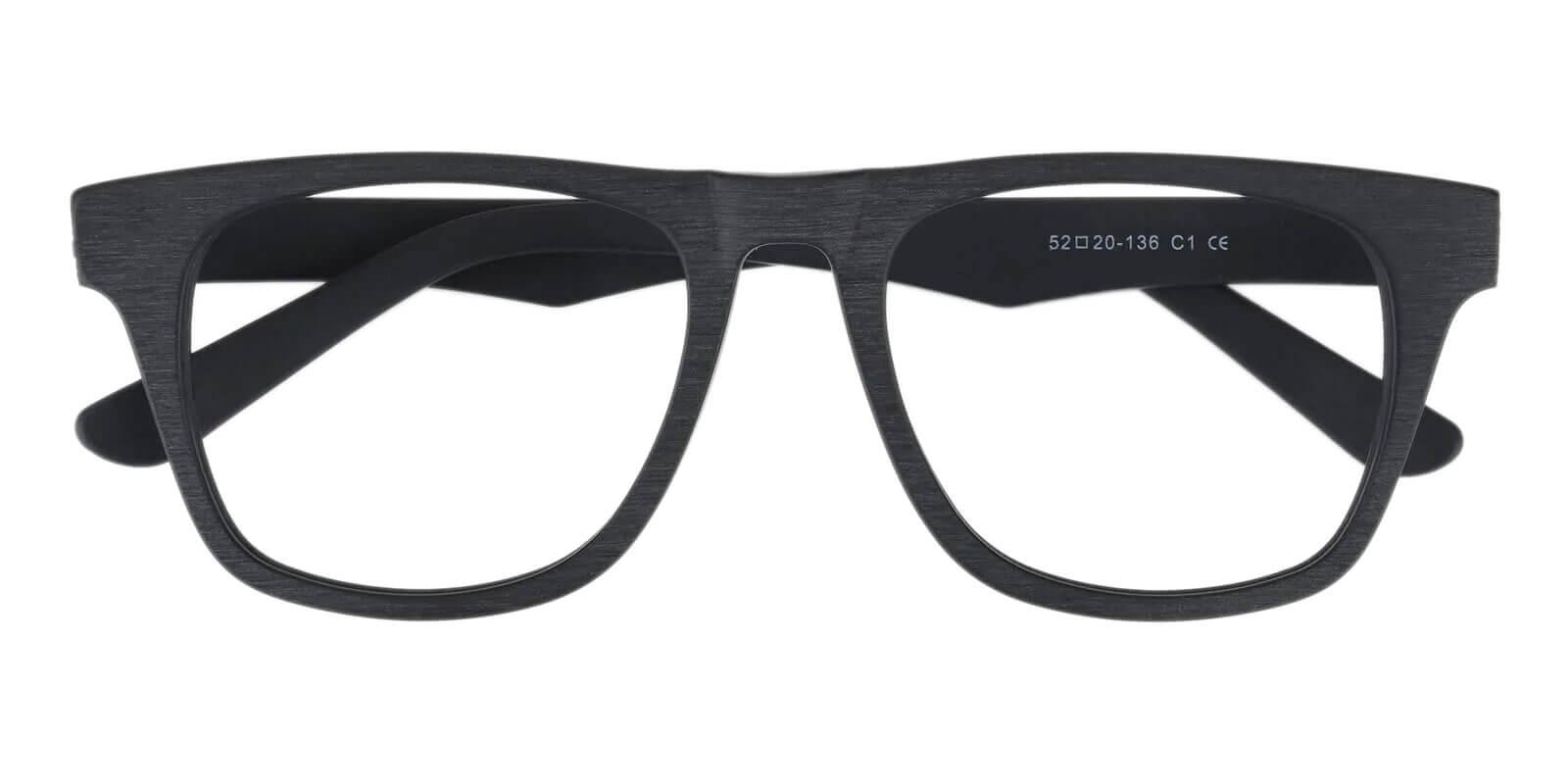 Mood Black TR Eyeglasses , UniversalBridgeFit Frames from ABBE Glasses