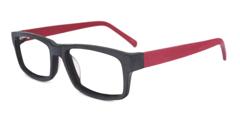 Red Beyond - TR Eyeglasses , UniversalBridgeFit