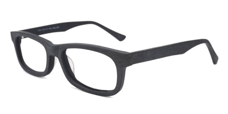 Black Chilliwack - TR Eyeglasses , UniversalBridgeFit
