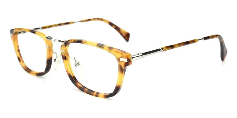 Tortoise Kompa - Acetate Eyeglasses , NosePads , SpringHinges