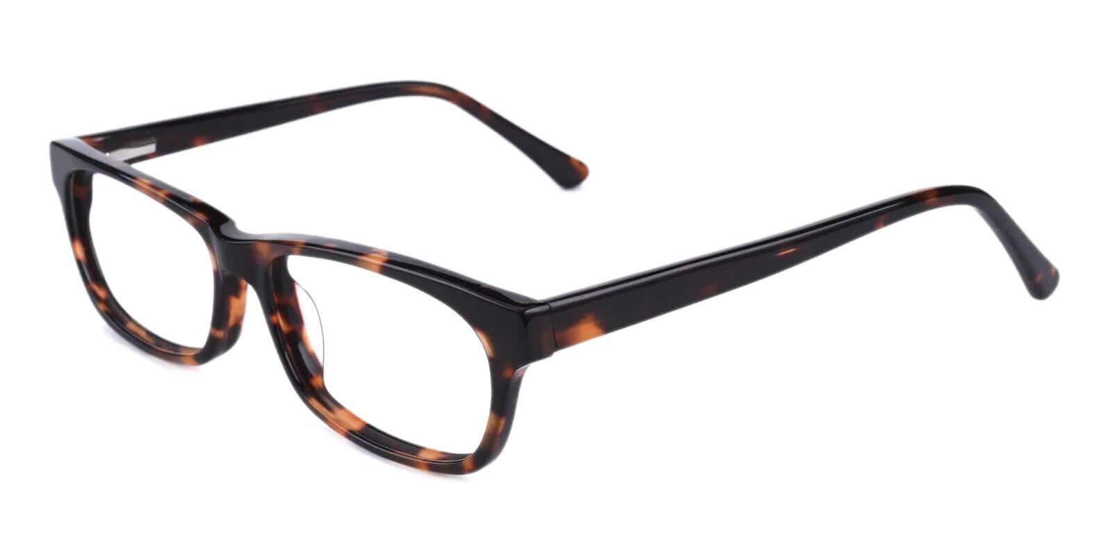 Villeneuve Tortoise TR Eyeglasses , SpringHinges , UniversalBridgeFit Frames from ABBE Glasses