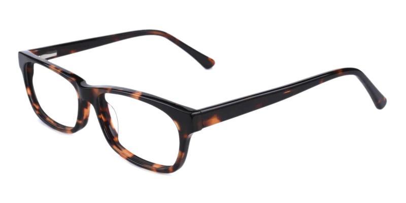 Tortoise Villeneuve - TR Eyeglasses , SpringHinges , UniversalBridgeFit