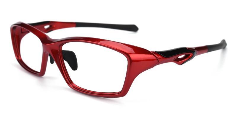 Red Quazar - TR SportsGlasses , UniversalBridgeFit