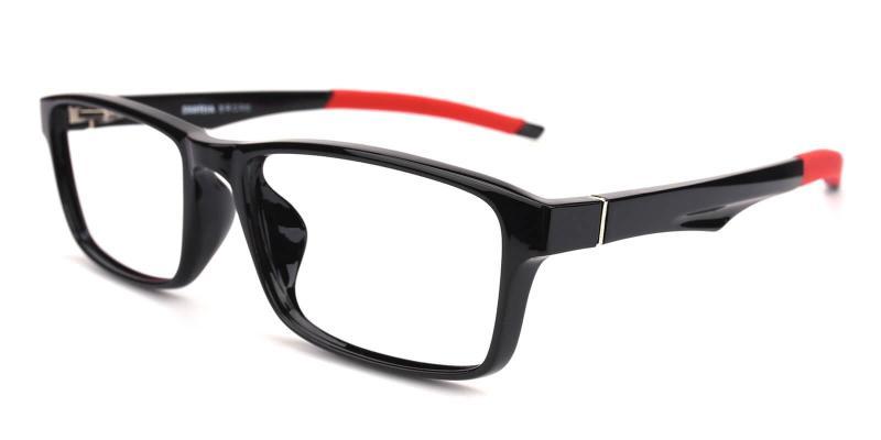 Black Arctic - TR Eyeglasses , SportsGlasses , UniversalBridgeFit