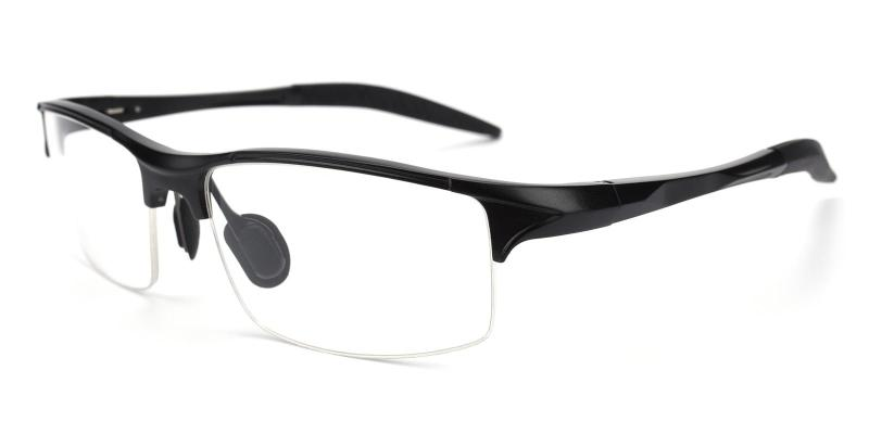 Black Apollo - Metal NosePads , SportsGlasses