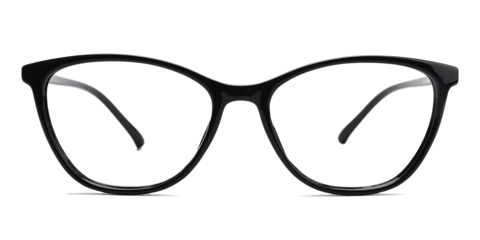 Percy Black TR Eyeglasses , Lightweight , UniversalBridgeFit Frames from ABBE Glasses