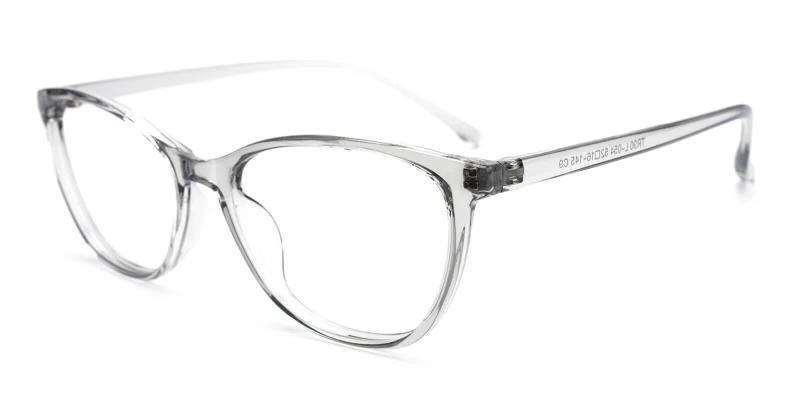Gray Percy - TR Eyeglasses , Lightweight , UniversalBridgeFit