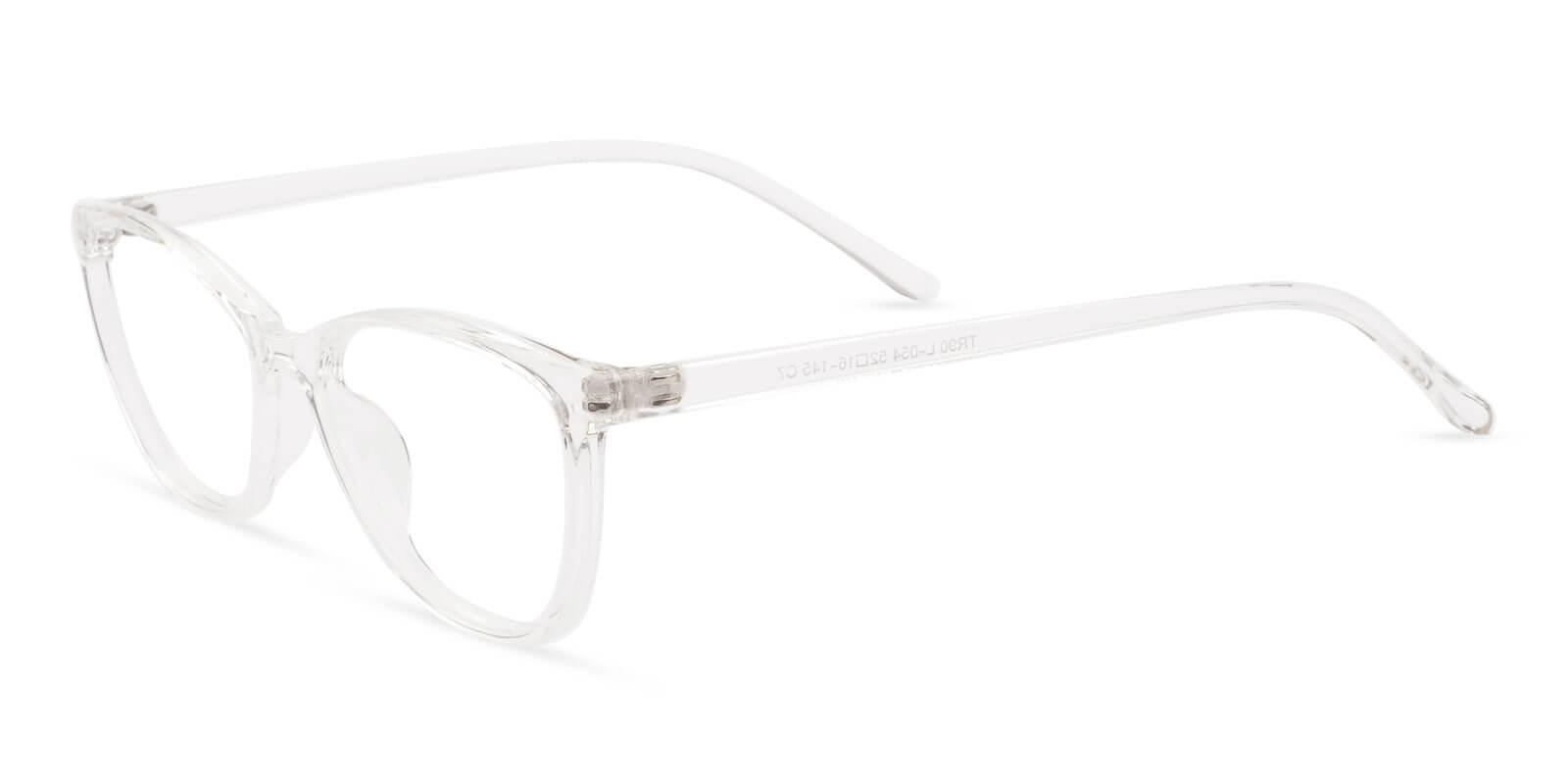 Percy Translucent TR Eyeglasses , Lightweight , UniversalBridgeFit Frames from ABBE Glasses