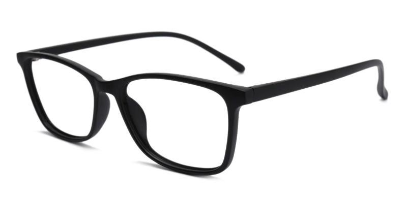 Black Marvel - TR Eyeglasses , Lightweight , UniversalBridgeFit