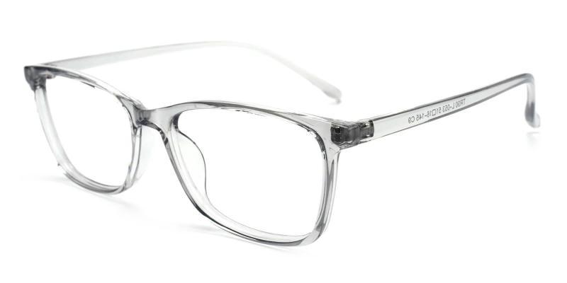 Gray Marvel - TR Eyeglasses , Lightweight , UniversalBridgeFit
