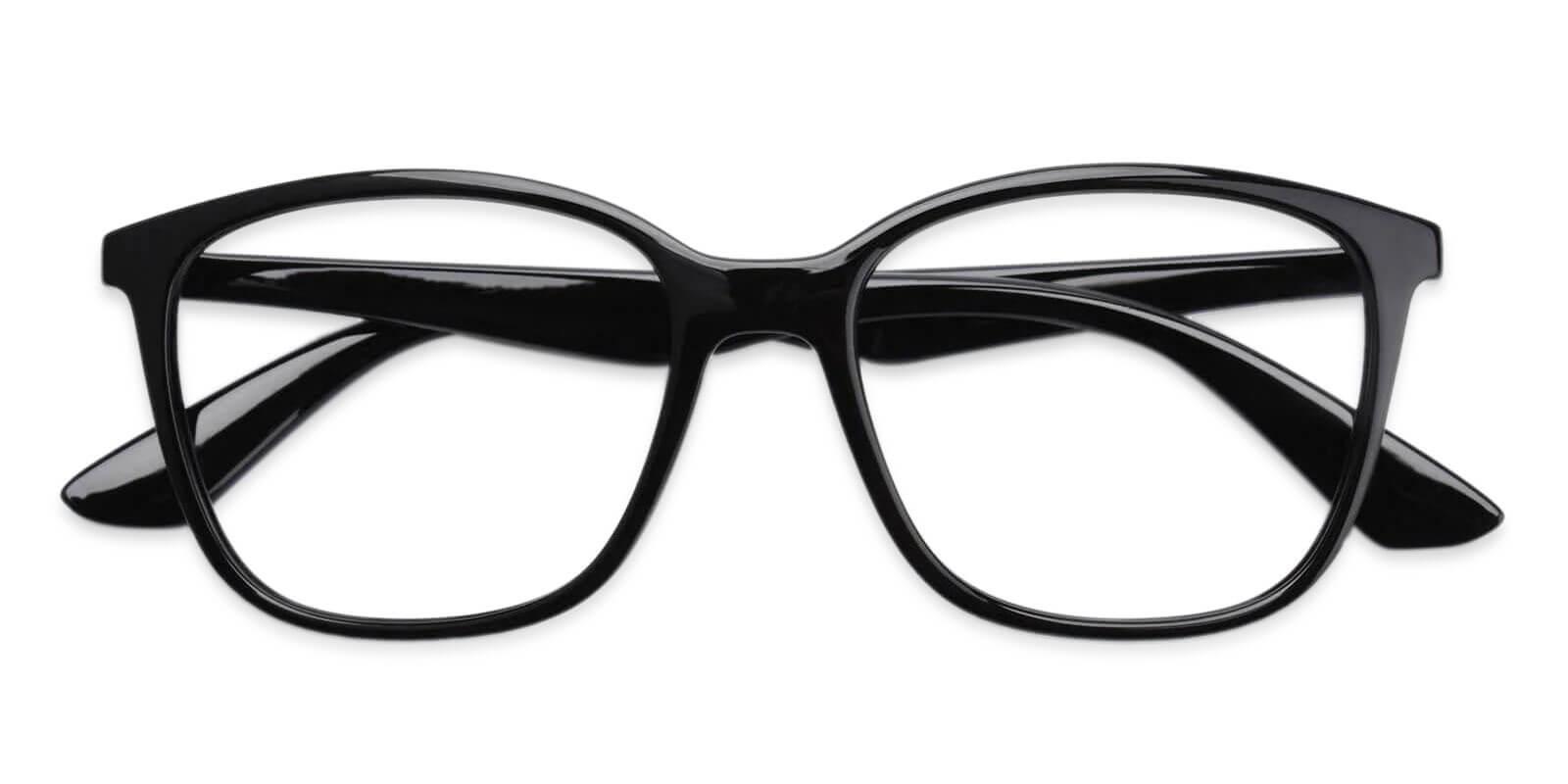 Northern Black TR Eyeglasses , UniversalBridgeFit Frames from ABBE Glasses