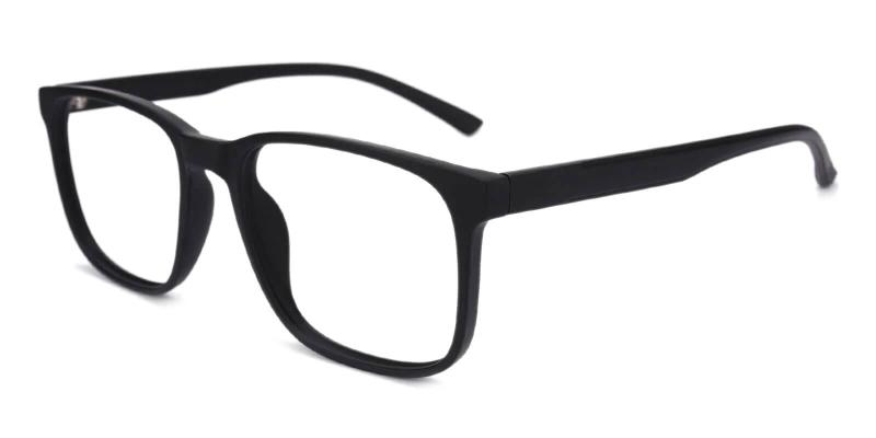 Black Warren - TR Eyeglasses , UniversalBridgeFit
