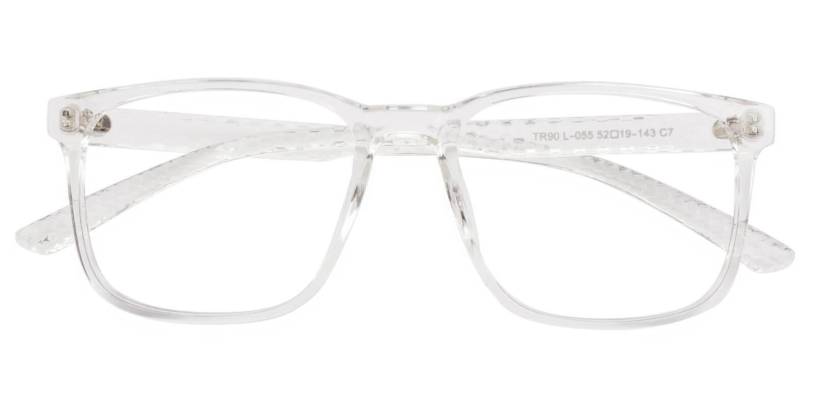 Warren Translucent TR Eyeglasses , UniversalBridgeFit Frames from ABBE Glasses