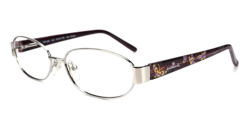 Silver Aroma - Combination Eyeglasses , NosePads , SpringHinges