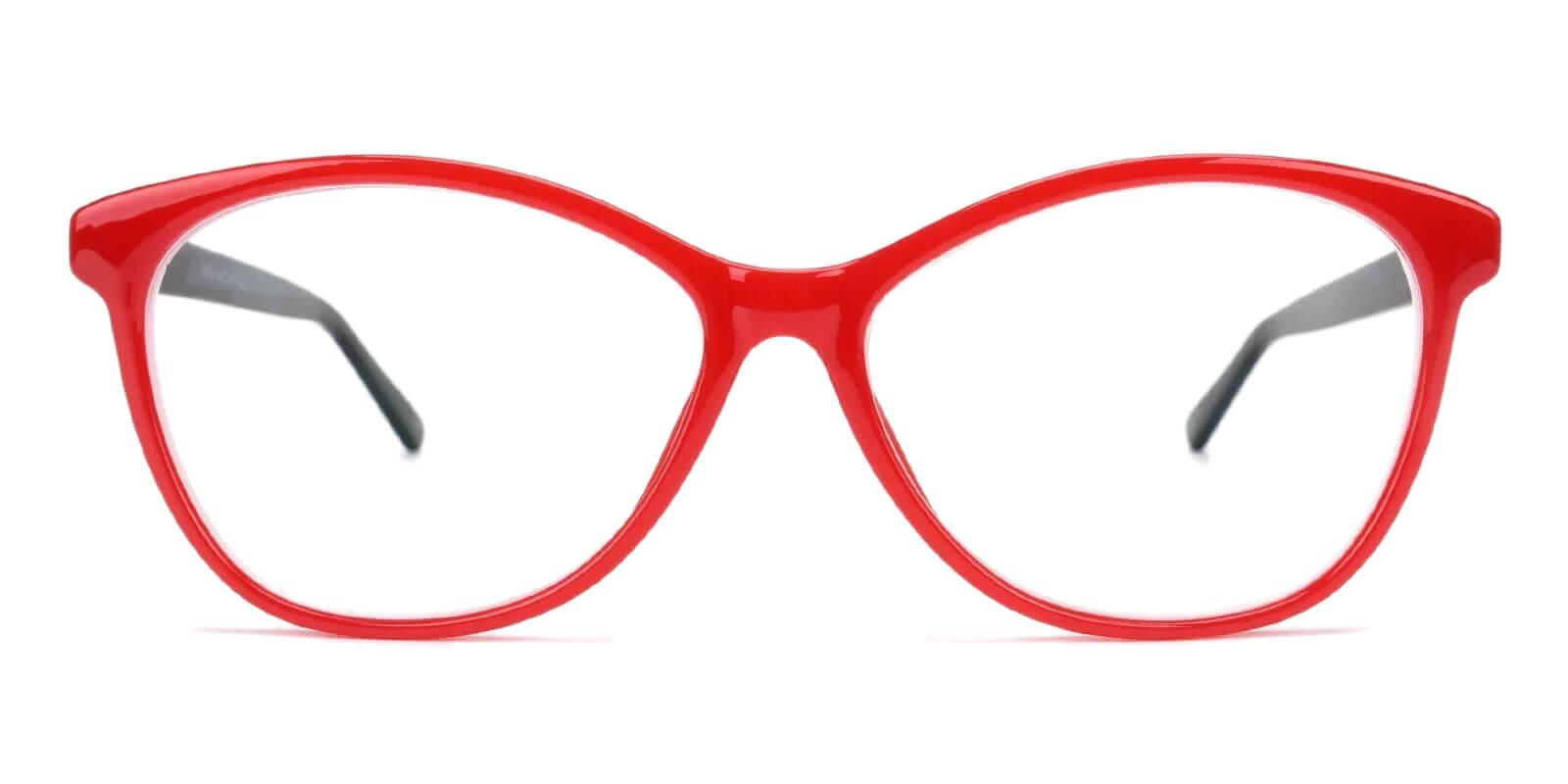 Lightworks Red Plastic Eyeglasses , UniversalBridgeFit Frames from ABBE Glasses