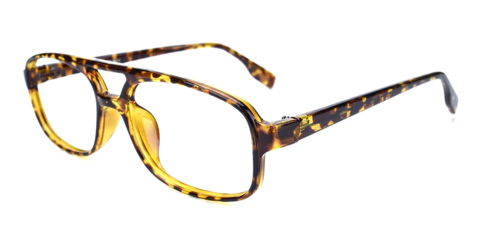 Rivet Tortoise Plastic Eyeglasses , UniversalBridgeFit Frames from ABBE Glasses