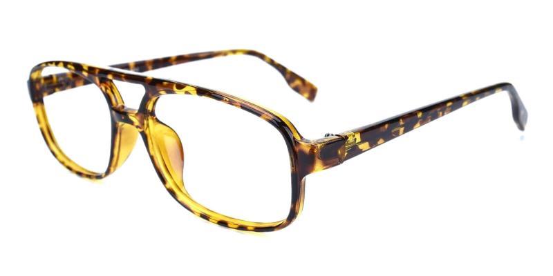 Tortoise Rivet - Plastic Eyeglasses , UniversalBridgeFit