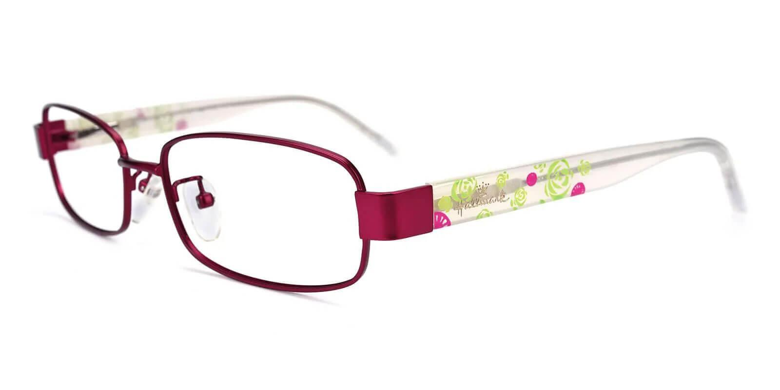 Fortune Purple Combination Eyeglasses , NosePads , SpringHinges Frames from ABBE Glasses