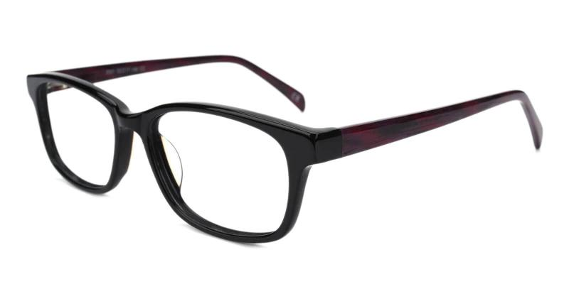 Purple Thrill - Acetate ,Universal Bridge Fit