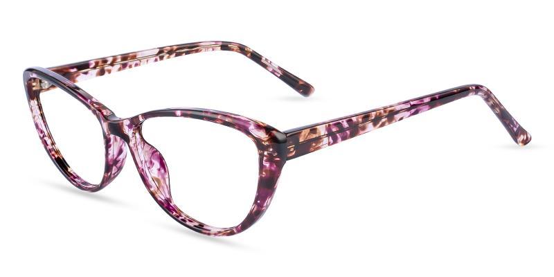 Pattern Memento - Acetate Eyeglasses , UniversalBridgeFit