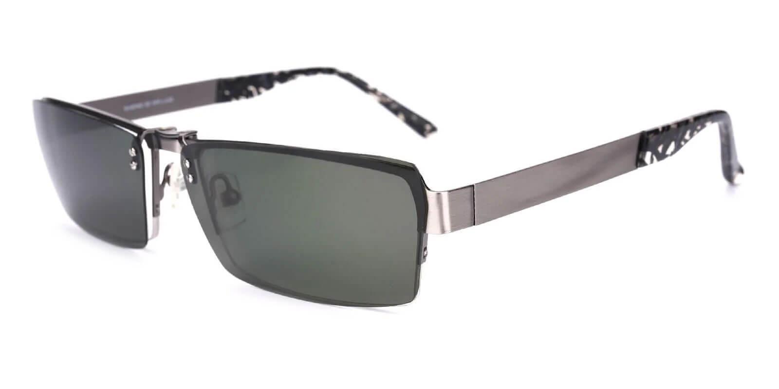 Bedford Silver Metal Eyeglasses , NosePads Frames from ABBE Glasses