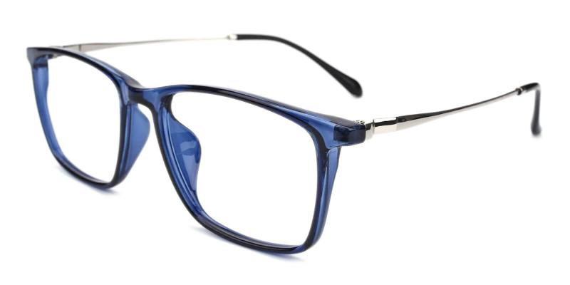Blue Honor - TR Eyeglasses , Lightweight , UniversalBridgeFit