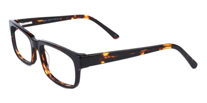 Tortoise Discover - Acetate ,Universal Bridge Fit