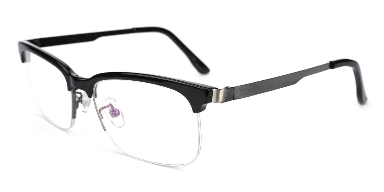Brace Black TR Eyeglasses , NosePads Frames from ABBE Glasses