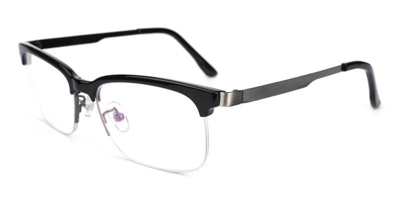 Black Brace - TR Eyeglasses , NosePads
